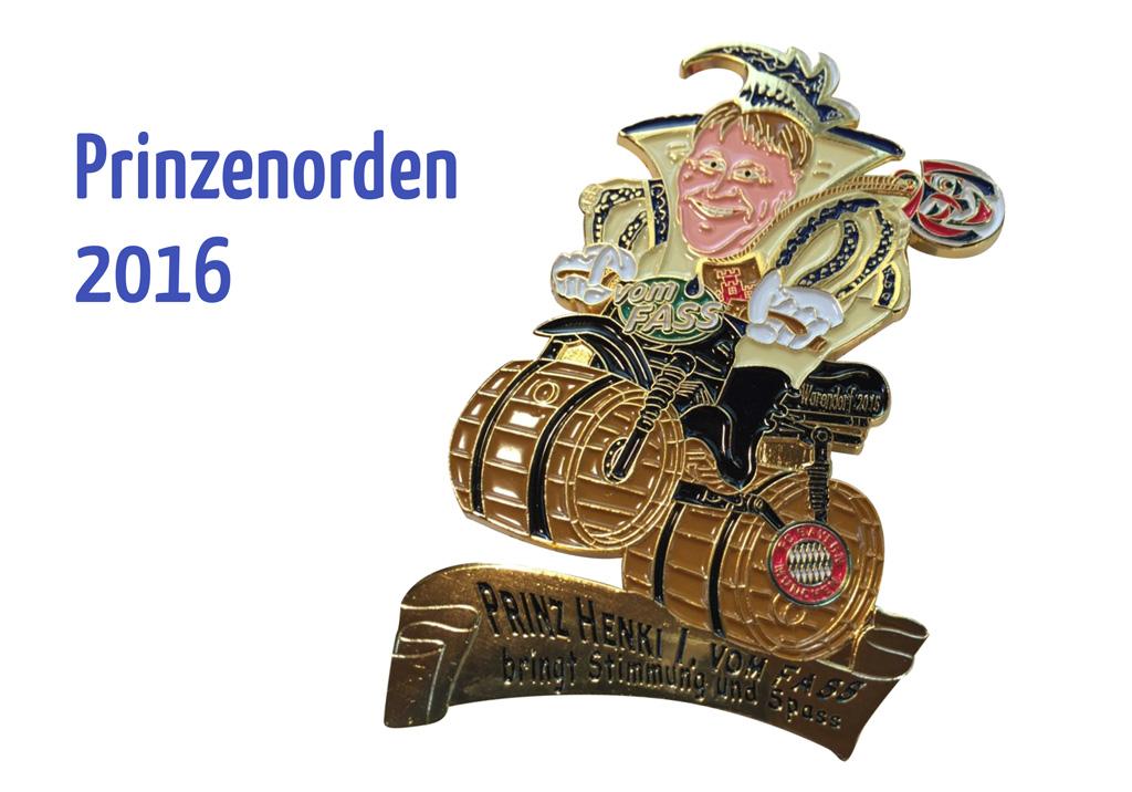Prinzenorden 2016